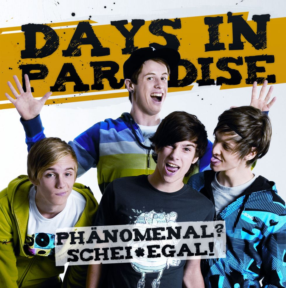 Days In Paradise - Phänomenal Scheissegal Cover 300dpi